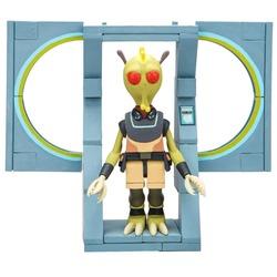 Кромбопулос - осторожный Ассасин - мини конструктор Рик и Морти (54 дет) (McFarlane Toys Rick & Morty The Discreet Assassin Micro Construction Set)