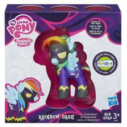 Эксклюзивная пони Радуга Дэш теневая - светится в темноте (My Little Pony Friendship is Magic Limited Exclusive Rainbow Dash as Shadowbolt)