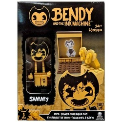 Мини конструктор с фигуркой Семми ( 26 дет.) (Bendy The Ink Machine Basic Fun Sammy Buildable Mini-Figure Set (26 Pieces))