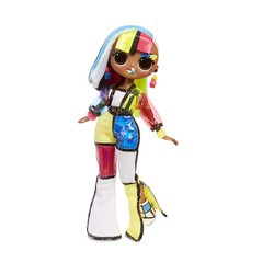 Кукла ЛОЛ Сюрприз! O.M.G. Стильная Англс, светящаяся в темноте, с 15 сюрпризами (L.O.L. Surprise! O.M.G. Lights Angles Fashion Doll with 15 Surprises)