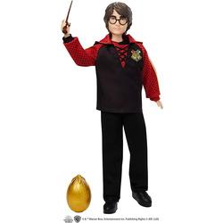 Кукла Гарри Поттер - Кубок огня с палочкой и золотым яйцом (Harry Potter Collectible Triwizard Tournament Doll, Wand and Golden Egg Accessory)