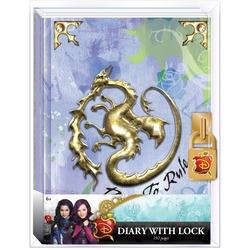 Дневник Мэл «Наследники Диснея» с замком и ключом, для фанатов Mal и Disney (Disney Descendants Mals Diary Journal Book for Girls)