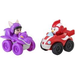 Фигурки Рода и Бетти Гонщика, герои сериала «Отважные птенцы» (Top Wing Rod and Betty Racers)