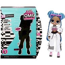 Кукла ЛОЛ Сюрприз O.М.G. 3 серия, Стильная Чиллакс, с 20 сюрпризами (L.O.L. Surprise! O.M.G. Series 3 Chillax Fashion Doll with 20 Surprises)