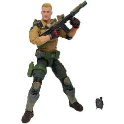 Фигурка Джи Ай Джо №04 Дюк с аксессуарами, премиум-класс G.I. Joe (Duke Action Figure Collectible 04 Premium Toy with Accessories)