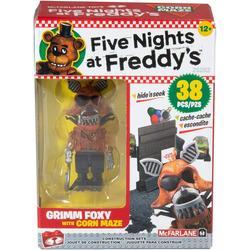 Кукурузный лабиринт - конструктор пять ночей с Фредди 38 дет. (McFarlane Toys Five Nights at Freddy's Corn Maze Micro Construction Set)