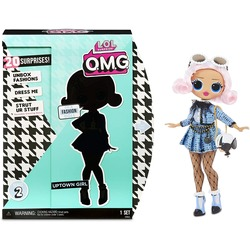 Кукла ЛОЛ Сюрприз О.М.G. Стильная Аптаун Гёл с 20 сюрпризами (LOL Surprise O.M.G. Uptown Girl Fashion Doll with 20 Surprises)