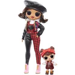 Кукла ЛОЛ Сюрприз О.М.G. Винте Чил Кэмп Кьюти с младшей сестренкой «Малышка в лесу» и 25 сюрпризами (LOL Surprise OMG Winter Chill Camp Cutie Fashion Doll & Sister Babe in The Woods Doll with 25 Surprises)