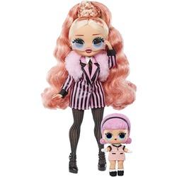 Кукла ЛОЛ Сюрприз О.М.G. Винте Чил Биг Виг с младшей сестренкой Мадам Квин и 25 сюрпризами (L.O.L. Surprise! O.M.G. Winter Chill Big Wig Fashion Doll & Madame Queen Doll with 25 Surprises)