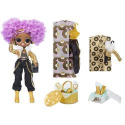 Кукла ЛОЛ О.М.G. Стильная 24K Ди Джей с 20 сюрпризами (LOL OMG 24K D.J. Fashion Doll)