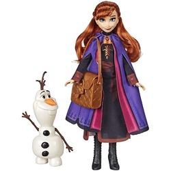 Кукла Анна с фигуркой Олафа и походной сумкой - «Холодное сердце 2» - Дисней (Disney Frozen Anna Doll with Buildable Olaf Figure)