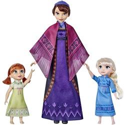 Набор: Кукла Королевы Идуны, поющая колыбельную, с малышками Эльзой и Анной - «Холодное сердце 2» - Дисней (Disney Frozen 2 Queen Iduna Lullaby Set with Elsa and Anna Dolls)