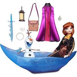 Набор «Приключение» с куклой Анной и фигуркой Олафа - «Холодное сердце 2» - Дисней (Disney Anna Classic Doll Adventure Play Set – Frozen 2)