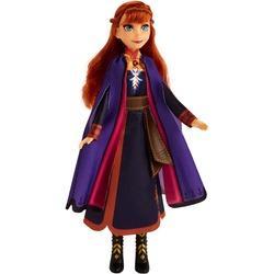 Кукла Анна поющая, в фиолетовой накидке - «Холодное сердце 2» - Дисней (Disney Frozen Singing Anna Fashion Doll with Music Wearing A Purple Dress)