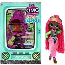 Кукла ЛОЛ Сюрприз О.М.G. Dance Dance Dance Виртуэлла (Virtuelle) светящаяся с 15 сюрпризами. (LOL Surprise OMG Dance Dance Dance Virtuelle Fashion Doll)