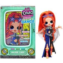 Кукла ЛОЛ О.М.G. Dance Dance Dance Мэйджор (Major) светящаяся с 15 сюрпризами. (LOL OMG Dance Dance Dance Major Lady Fashion Doll)