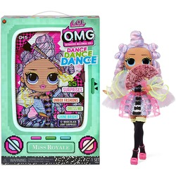 Кукла ЛОЛ О.М.G. Dance Dance Dance Ройала (Royale) светящаяся с 15 сюрпризами. (LOL OMG Dance Dance Dance Miss Royale Fashion Doll)