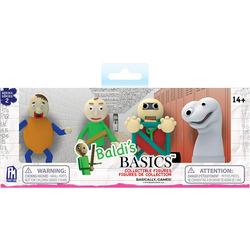 Набор из 4 фигурок Балди Басикс - 2 серия (Baldi's Basics Figure Pack)