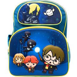 Бирюзовый рюкзак с Гарри, Роном и Гермионой, убегающими от дементоров (Harry Potter Teal Backpack with Hedwig, Harry, Ron & Hermione Running from Dementors)