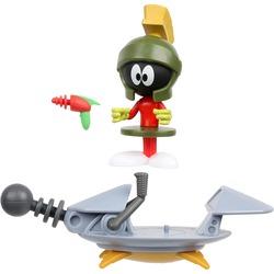 Марвин Марсианин с космическим кораблем из серии «Космический джэм - Новое Наследие». (SPACE JAM: A New Legacy - Baller Action Figure - Marvin The Martian with Spaceship)