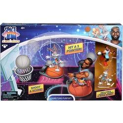 Набор для игры в Данк с фигурой Леброна Джеймс из серии «Космический джэм - Новое Наследие». (SPACE JAM: A New Legacy - Super Shoot & Dunk Playset with Lebron Figure)