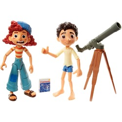 Лука Пагуро и Джулия - набор звездочеты - Disney и Pixar (Disney and Pixar Luca Stargazers Pack with Luca Paguro & Giulia Posable)