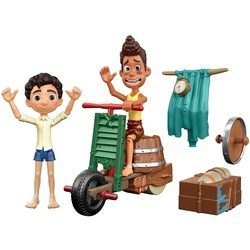 Лука Пагуро и Альберто Скорфано - набор сборный скутер - Disney и Pixar (Disney and Pixar Luca Scooter Build & Crash Pack with Luca Paguro & Alberto Scorfano Posable Action Figures)