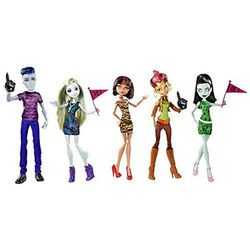 "Слоу Мо, Лагуна, Клео, Скара, Гильда - Набор ""Мы Монстр Хай"" (5 doll set - We are Monster High)"