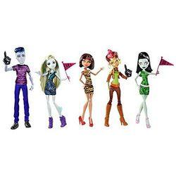 """Слоу Мо, Лагуна, Клео, Скара, Гильда - Набор """"Мы Монстр Хай"""" (5 doll set - We are Monster High)"""