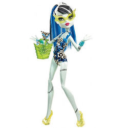 Фрэнки Штейн - Монстры в купальниках (Frankie Stein - Fashion Doll Swimsuit Leopard Print)