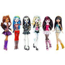 Набор из 6 базовых кукол: Дракулаура, Клео, Фрэнки Штейн, Клодин Вульф, Гулия Йелпс, Лагуна Блю (6 basic dolls set)