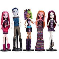 Спектра Вондергейст, Джиджи Грант, Инвизи Билли, Клодин Вульф, Дракулаура -Набор из 5 кукол - страсти по шопингу (Fangin At The Maul)