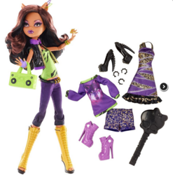 Клодин Вульф - Я люблю моду (Clawdeen Wolf: I heart fashion)