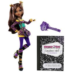 Клодин Вульф - Выпускники школы (Clawdeen Wolf: School's Out)
